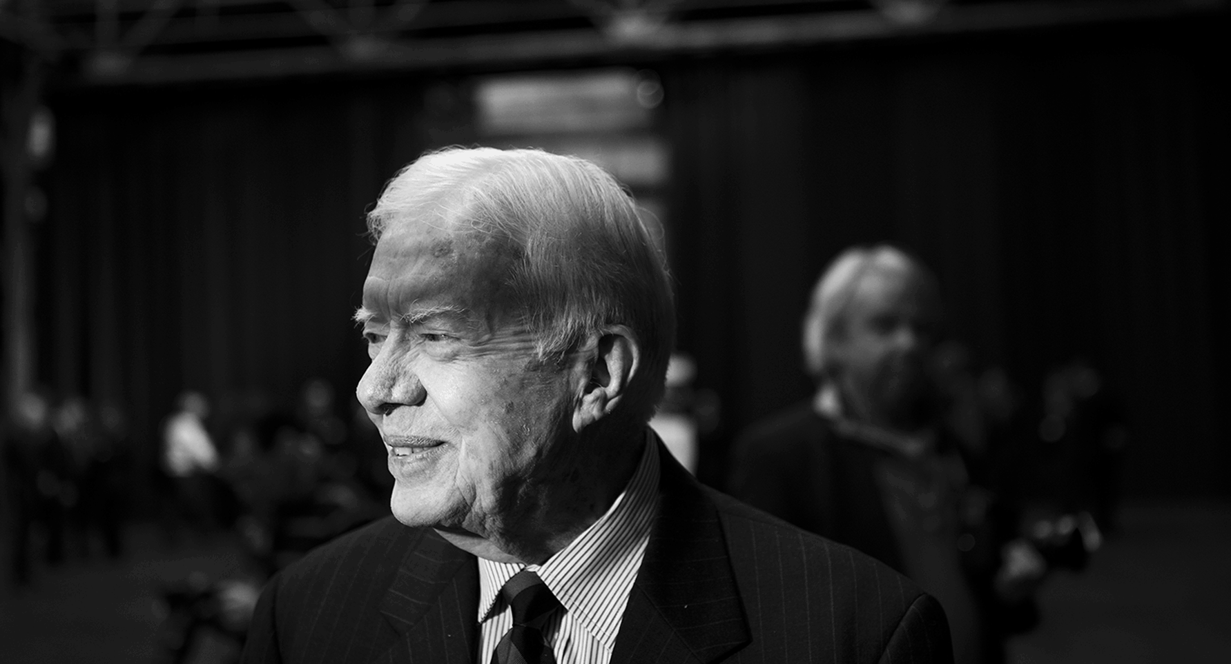 Ex-US-Präsident Jimmy Carter in Bochum 2012, Foto: Mathias Schumacher