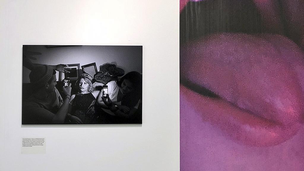 Hashtags Unplugged in der FREELENS Galerie in Hamburg, Foto: matschild.de